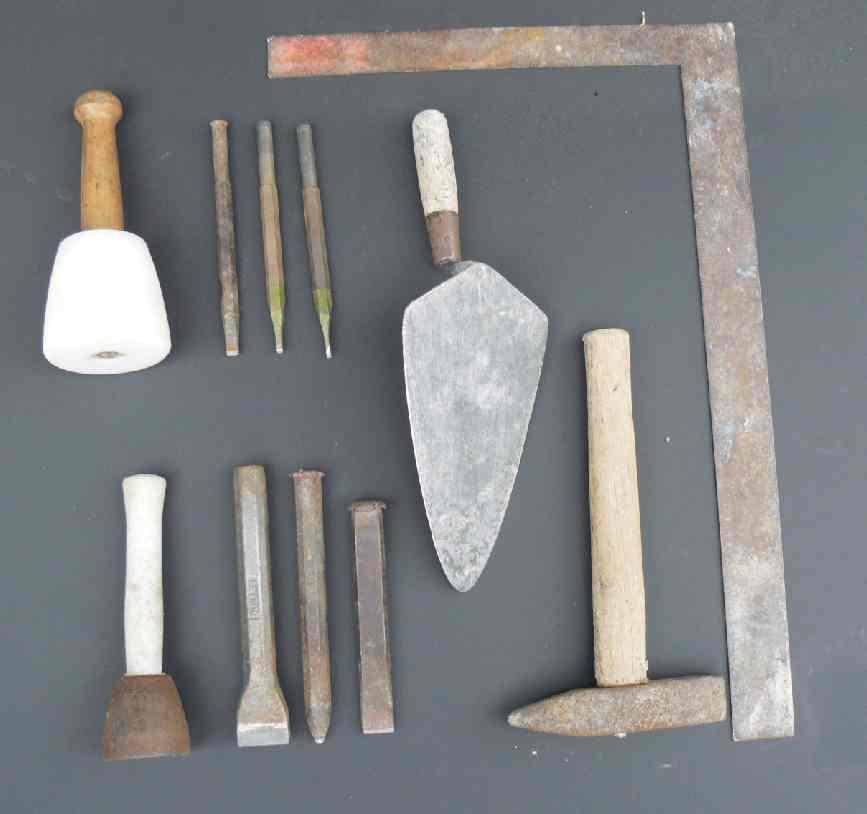 Stone Mason Tools : Brick mason tools bing images